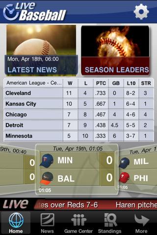 Baseball scores yahoo