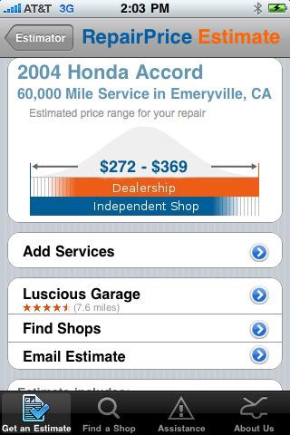 RepairPal: Auto Repair Expert