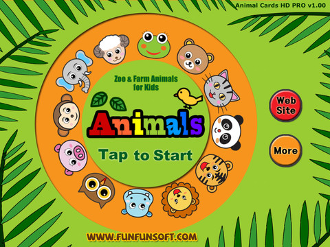 Touch Animals HD PRO, Animated Zoo and Farm Cartoon Animals for kids zoo animals clipart