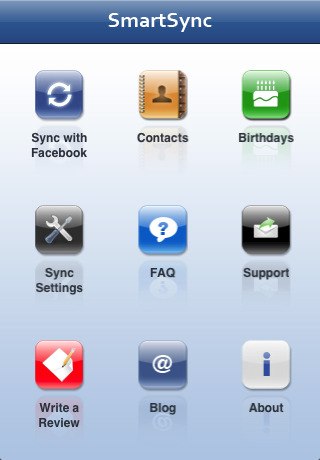 SmartSync (Sync with Facebook)