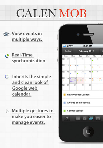 CalenMob Free - Google Calendar Client