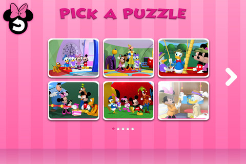 Disney Junior Minnie Mouseke-Puzzles