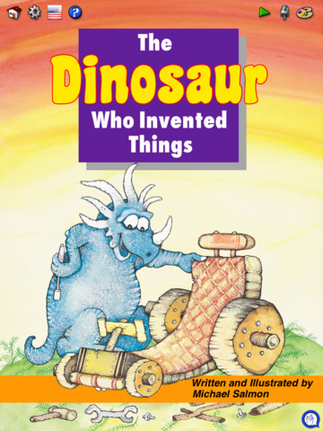 The Dinosaur Who Invented Things printing press invented