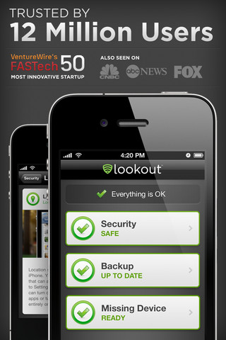 Lookout Mobile Security - Free