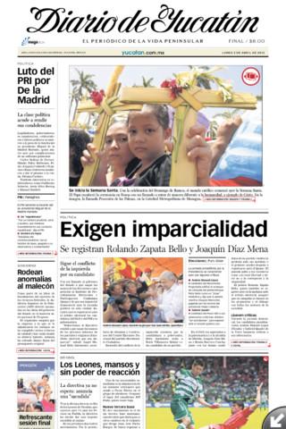 El Diario de Yucatán para iPad yucatan peninsula crater