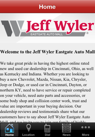 jeff wyler eastgate auto mall 1 1 app for ipad iphone business app by jeff wyler automotive. Black Bedroom Furniture Sets. Home Design Ideas