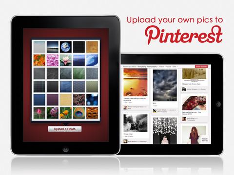 Photo Uploader for Pinterest pinterest site