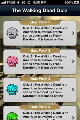 iQuiz for The Walking Dead  ( Trivia TV series ) 1.0