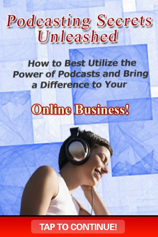 The Podcasting Secrets Unleashed podcasting software