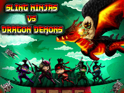 Sling Ninjas Vs Dragon Demons HD