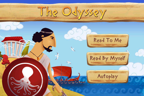 The Odyssey Children S Story Book App For Ipad Iphone
