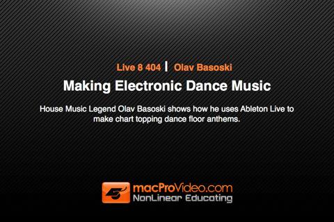 Making Electronic Dance Music music making program