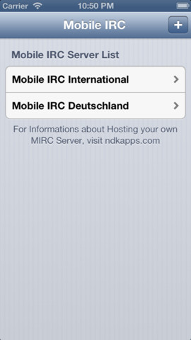 Mobile IRC - Chat from anywhere!