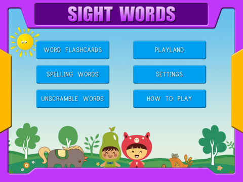 ABC First Phonics - Sight Words Games