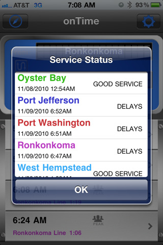 onTime : LIRR FREE (Ad supported) 4.1