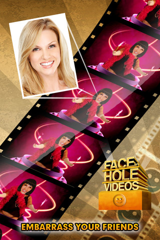 Screenshots FACEinHOLE Videos: The amazing movie maker