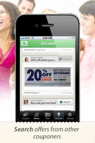 SnipSnap Coupon App - Scan and Save Printed Coupons for Mobile Couponing