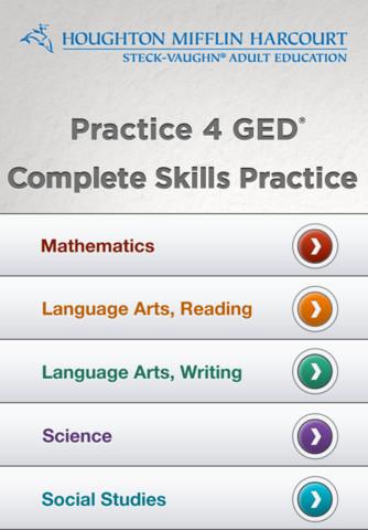 Steck-Vaughn GED: Mathematics