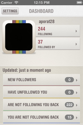 InstaFollow - Follower Manager for Instagram