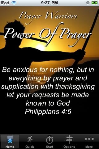 Prayer Warriors - Power of Prayer sailor s prayer
