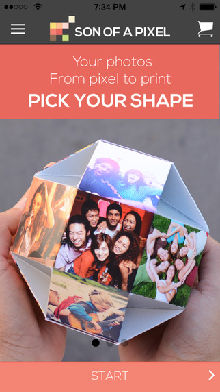 Son of a Pixel - Photo Printing. High Quality, Eco-Friendly Printing vista printing business cards