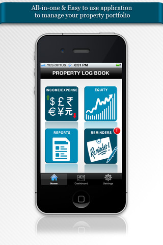 Property Log Book: Manage your property portfolio property taxes