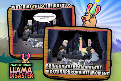 Inappropriate Llama Disaster! inappropriate mother son touching