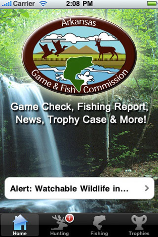 Arkansas game and fish commission app for ipad iphone for Arkansas game and fish commission