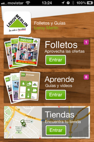 Folletos y gu as de leroy merlin app for ipad iphone for Folleto leroy merlin