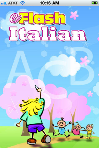 ‎Learn Italian Baby Flash Cards on the App Store