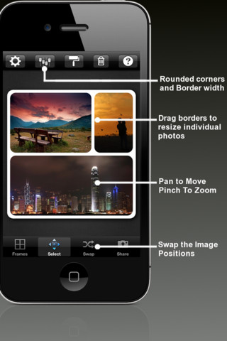 Instapic frames - photo collage & photo frames for instagram