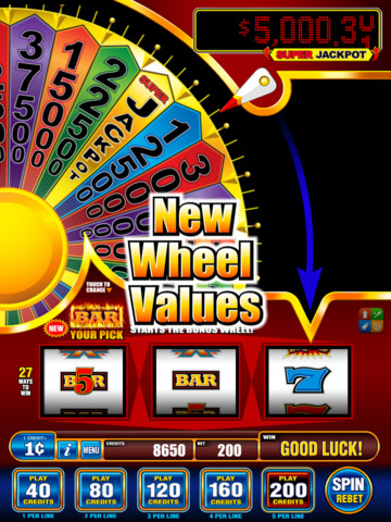 free slot machine ipad apps