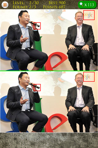 Download Spot the Difference - Gangnam Style Version iPhone iPad iOS