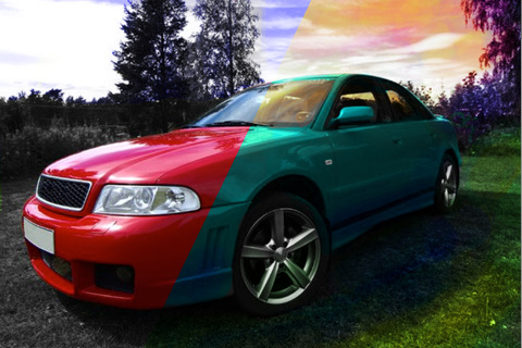 Color Effects - recolor/decolor/splash colors on images and Facebook photos