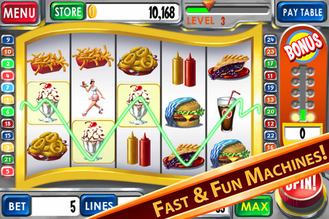 free casinos slots bonus rounds