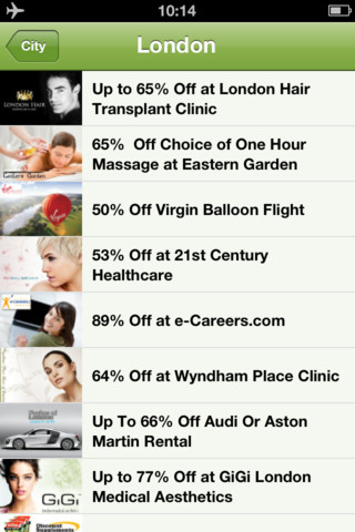 Groupon Deal Widget HD