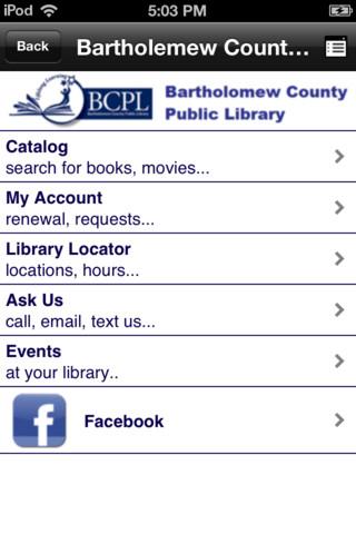 Bartholomew Co Public Library free public online library
