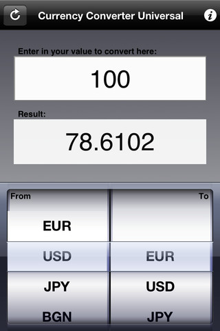 Currency Converter Universal 1.0 App for iPad, iPhone - Business - app ...