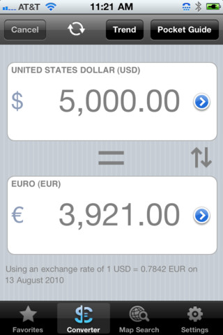Universal Currency Converter - UCC 1.1 App for iPad, iPhone - Travel - app by Shoppapp LLC ...