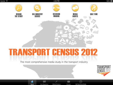 Transport Census 2012 –Developed as a vital tool for B2B marketing professionals in the transport sector, Transport Census 2012 is the most comprehensive report of its type in any medium. q auto transport