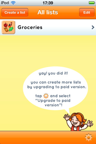 Shop Together: Shared shopping lists