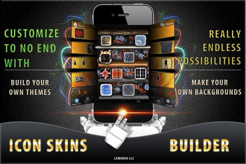 Icon Skins Builder FREE - Create Custom Home Screen Backgrounds