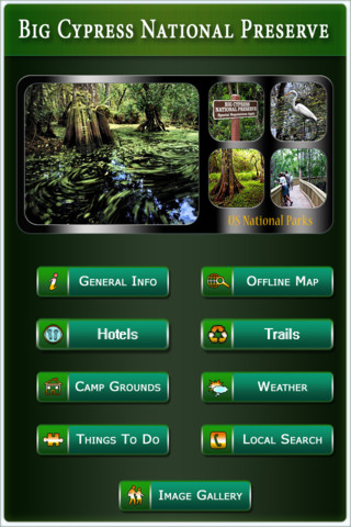 Big Cypress National Preserve - GPS Map Navigator