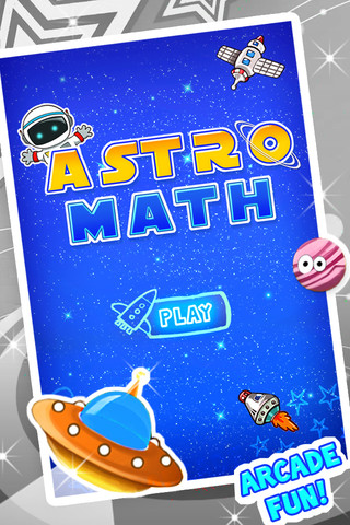 Math Games - Astro Math Practice Factors and Multiplication math games