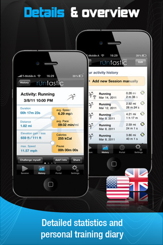 runtastic GPS Running, Jogging and Fitnesscoach 2.2 App for iPad ...