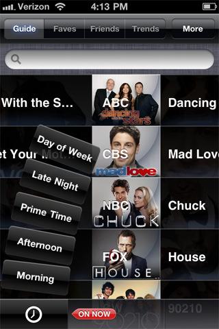 yap.TV Social TV Guide - Twitter client for TV tv projectors
