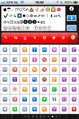 Characters and Symbols LITE - Many new characters and symbols for your iDevice
