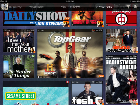 NextGuide TV Program Listings with Netflix, Hulu, and iTunes support tv comedies on netflix