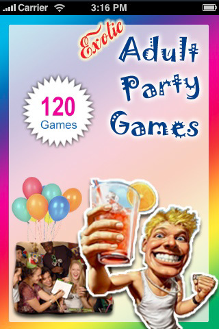 Exotic Adult Party Games - ebook