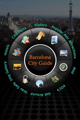 Barcelona Offline Travel Guide 4.1